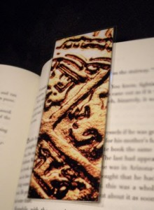 gold pirate coin photo bookmark by fallenpeach on etsy