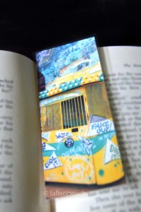 1950's Carnival Doo Wop Bookmark at fallenpeach on etsy