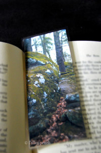 nature bookmark by fallenpeach on etsy