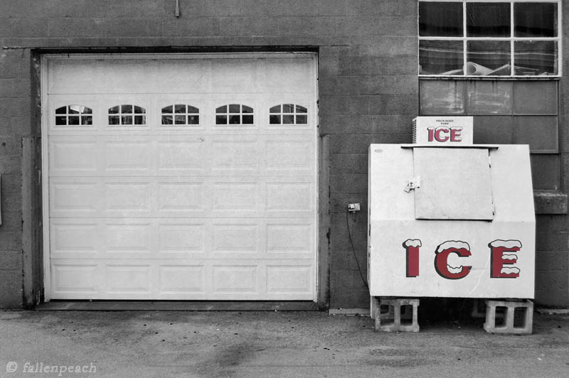 Milford Ice Photo by fallenpeach on Etsy