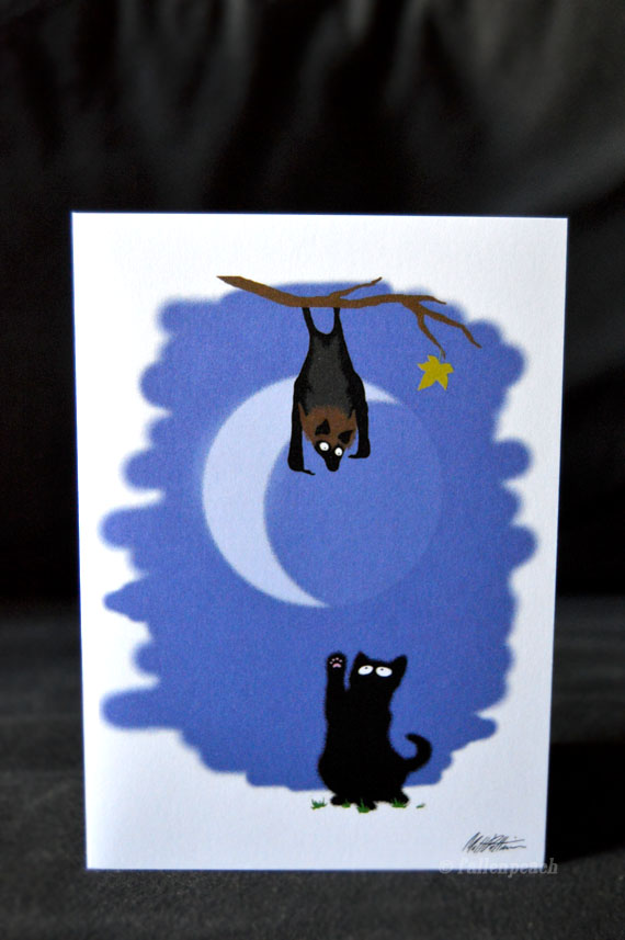 Sammy and Normund Greeting Card by fallenpeach on Etsy