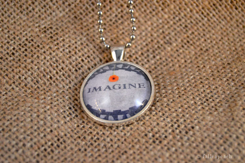 imagine pendant by fallenpeach on etsy