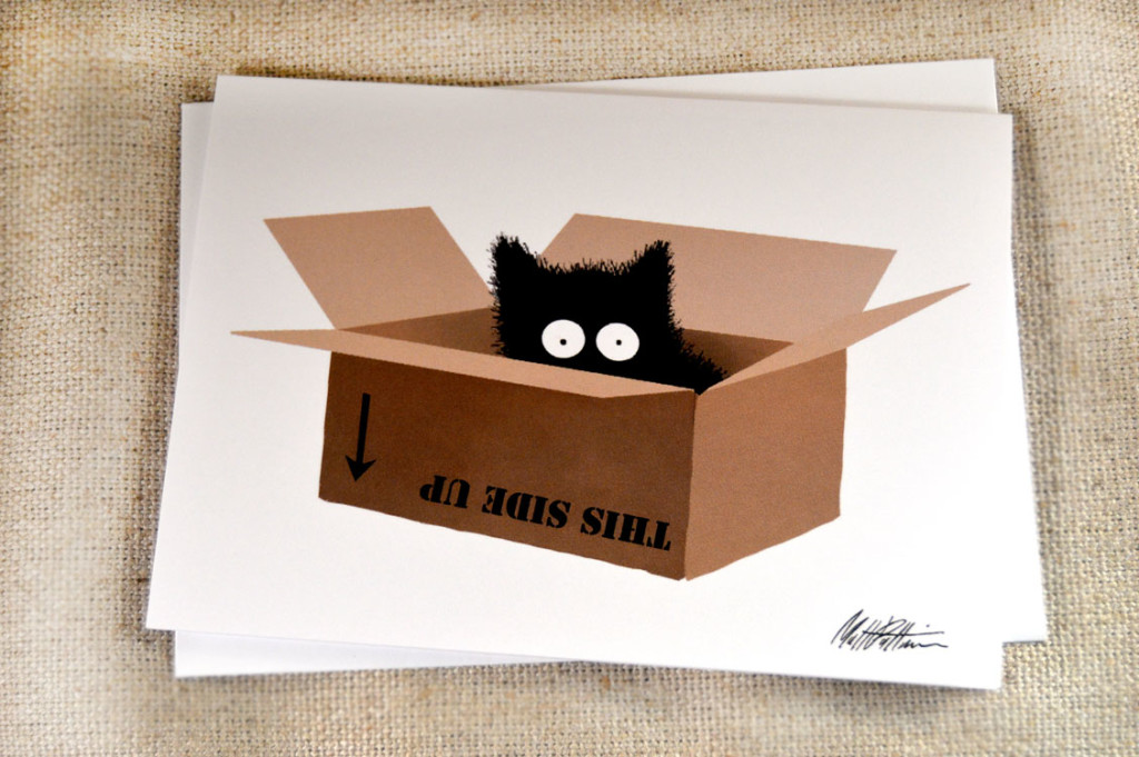 Sammy the Cat Box Greeting Card